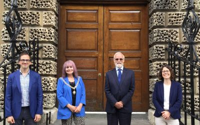 Children's charity Voices for Life welcomes The Mayor of Bath as new patron